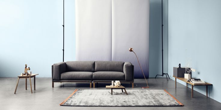 Cosy sofa designed by Glismand  Rüdiger