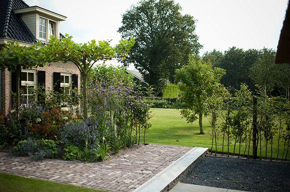 Buytengewoon landelijke tuinen landelijke tuin met