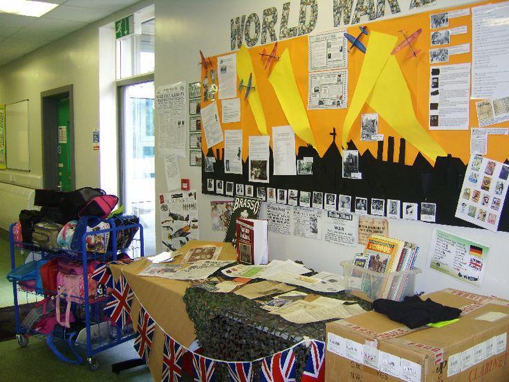 World War 2 classroom display photo - Photo gallery - SparkleBox