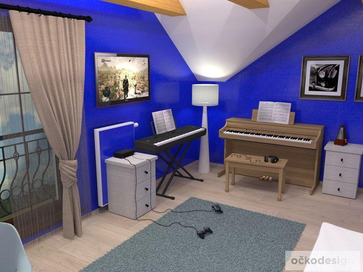 ch,designový studenstký pokoj, jan navrhnout dětský, Petr Molek designer, designové interiéry, moderní dům