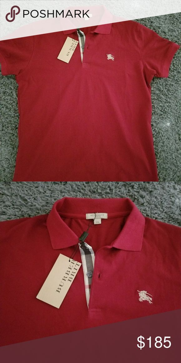 Burberry Polo shirt New Burberry Polo shirt size XL with tags. Fits more like a L US Burberry Shirts Polos