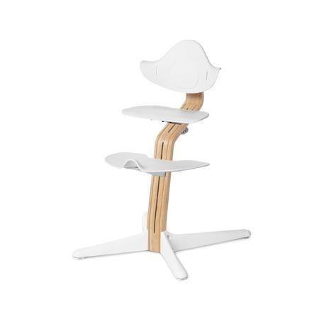 Evomove Стульчик Nomi, основание Стандарт, Белый, обвес в ассорт.  — 16900р.  Регулируемый стульчик-трансформер Evomove Nomi предназначен для детей в возрасте от 2 до 12 лет.  Детский стульчик Nomi можно использовать до подросткового возраста: высота сиденья и подножки легко регулируется, а сам стульчик выдерживает вес до 90 кг, при этом вес его самого не более 5 кг!  Преимущества детского стульчика-трансформера Nomi:  • Универсальность.Стульчик Nomi не требует наличия детского стола…
