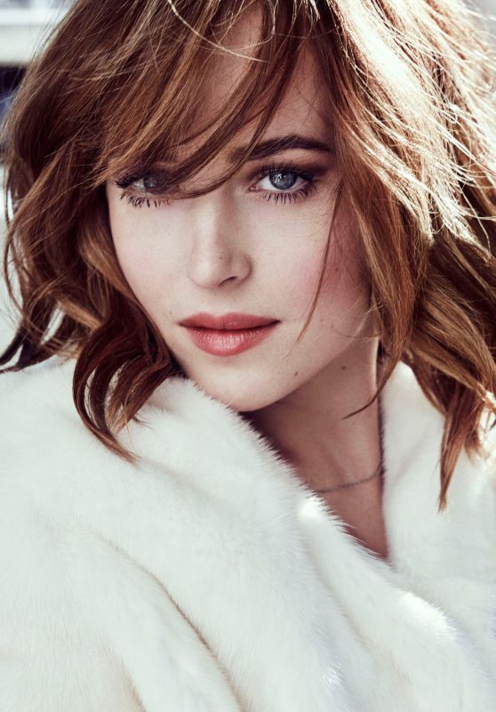 Beauty Mags: Dakota Johnson | Marie Claire US March 2016
