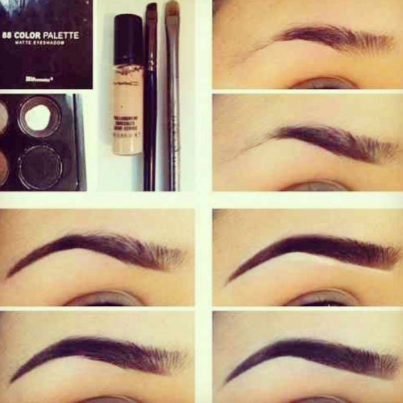 Eyebrow Makeup Tips Step Tutorial Eyebrows