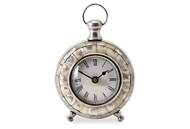 Levine Desk Clock On Onekingslane Com Tabletop Clocks