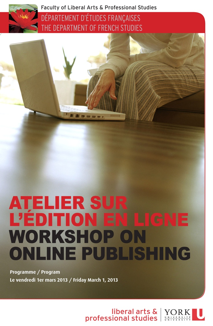 BILINGUAL WORKSHOP  Fine tune your Online Publishing skills at a bilingual workshop this Friday, March 1.