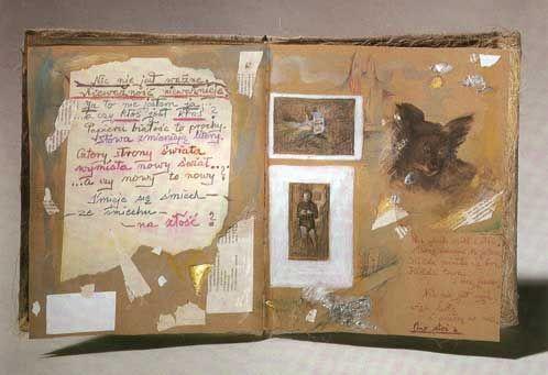 """Erna Rosenstein: """"Das Buch der ewigen Erinnerung"""", 1995. Fot.  Jacek Kucharczyk"""