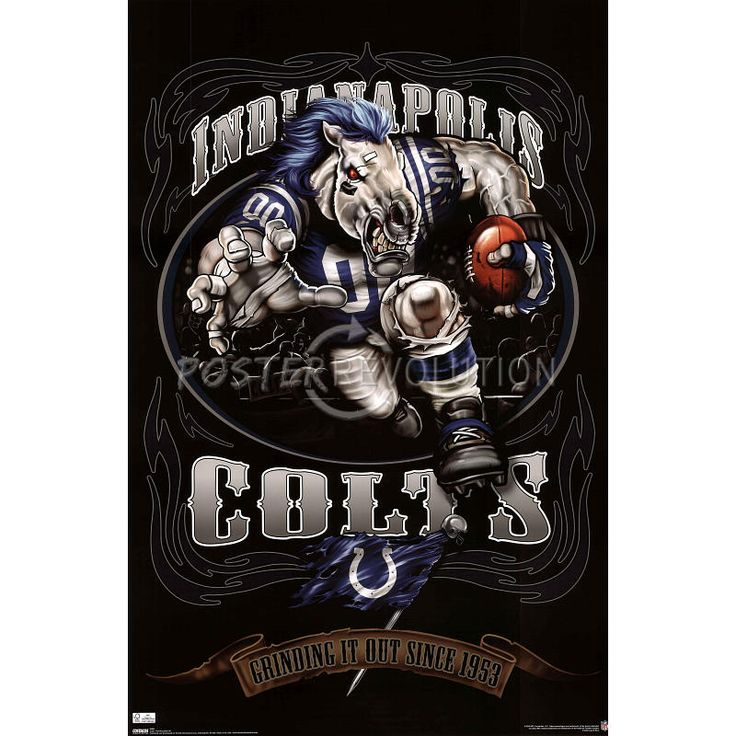22 best nfl mascot posters images on pinterest american football indianapolis colts mascot indianapolis colts mascot grinding it out since 1953 sports voltagebd Images