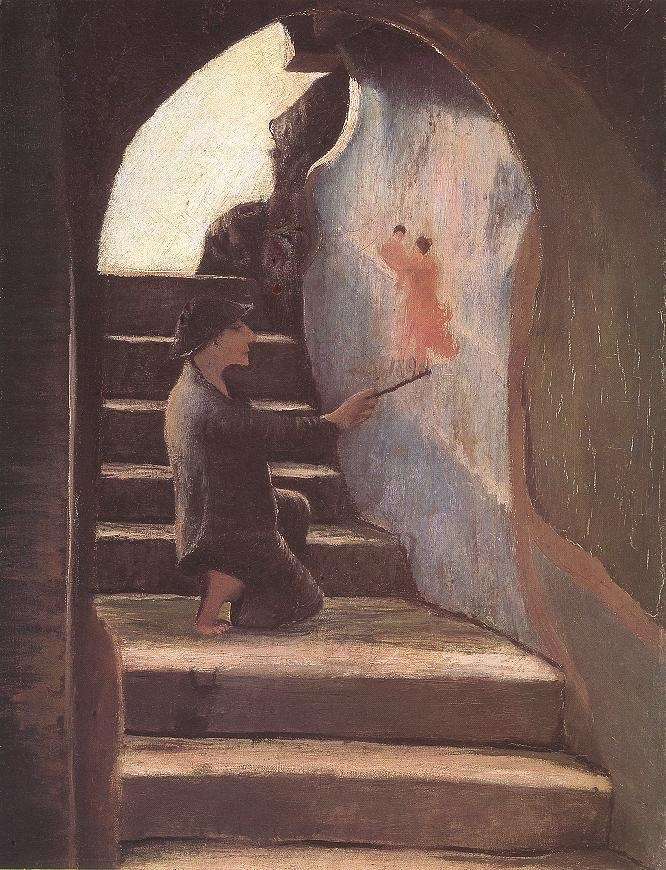 Csontváry Kosztka Tivadar - Az ifjú festő