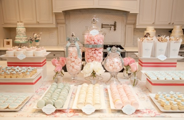 Inspiration for Candy buffet for my Red Carpet Wedding Party