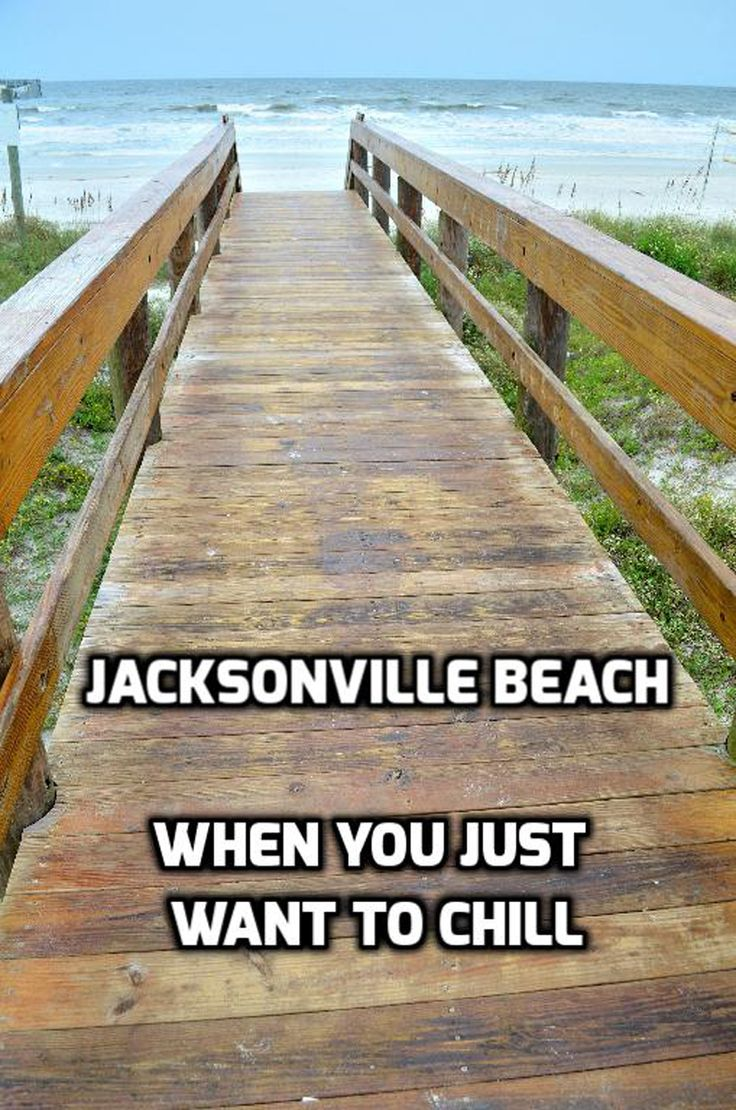 """Take a """"chill weekend"""" to recharge at  Jacksonville Beach – a relatively small beach community on Florida's northeast coast. http://luggageandlipstick.com/jacksonville-beach/"""