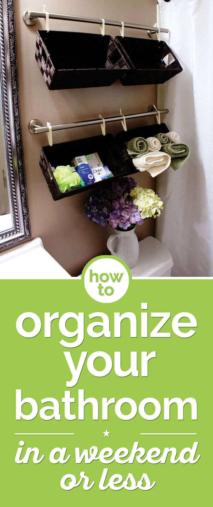 How To Organize Your Bathroom In A Weekend Or Less Shops How To Organize And Bathroom