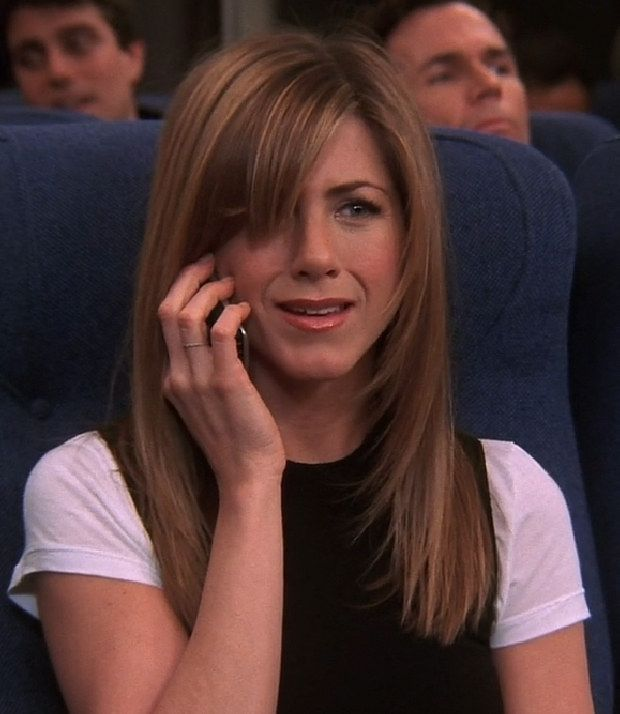 """Jennifer Aniston as Rachel Green 