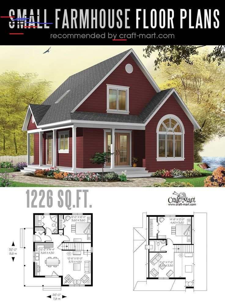 Kleine Moderne Bauernhausplane Fur Den Bau Eines Hauses Ihrer Traume Handwerk A Cross Gable Roof Modern Farmhouse Plans Small Farmhouse Plans Farmhouse Plans