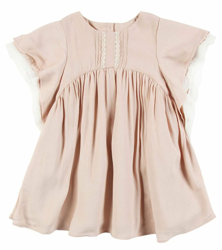 Love the color and design. Baby dress inspiration. Shan and Toad baby boutique…