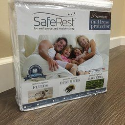 Amazon.com: Customer Reviews: Twin Extra Long SafeRest Premium Hypoallergenic Waterproof Mattress Protector - Vinyl Free