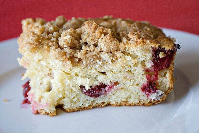 Cranberry Coffee Cake | Favorite Recipes: Breakfast | Pinterest