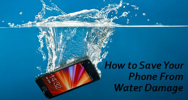 How To Save Your Phone From Water Damage - The Scoop