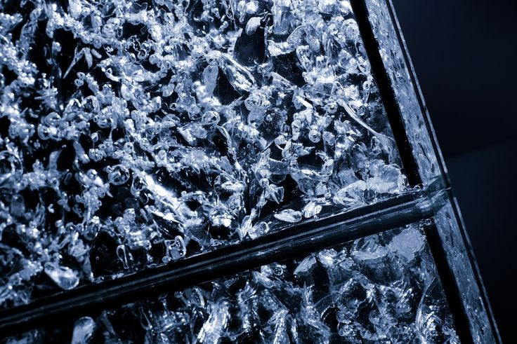 Arctic glass - like an ice floe.
