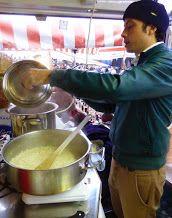 Lo Chef al mercato da #pieroelucaformaggi
