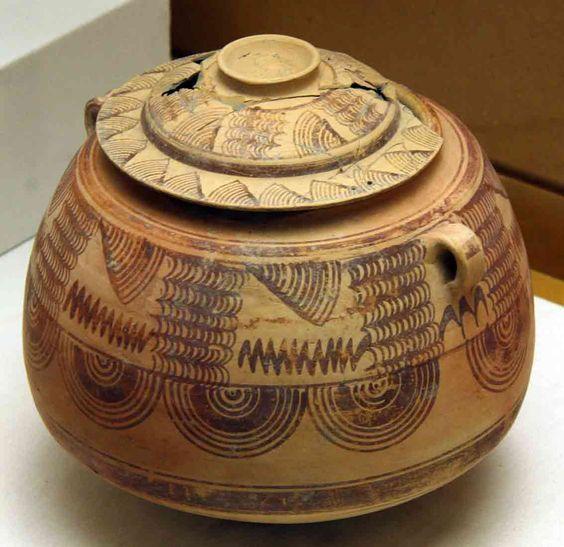 Spain / IBERIA. (Pre-Roman Spain) - Geometría en la cerámica íbera, siglo II y III a.C. Matemolivares.