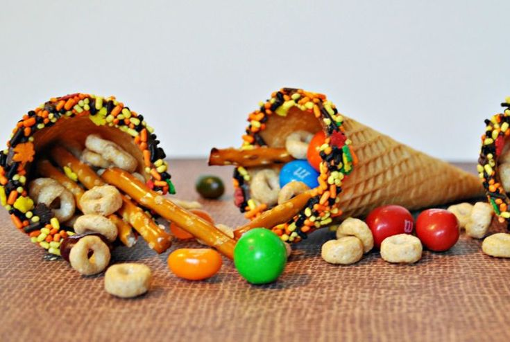 Cornucopia Craft - WomansDay.com #thanksgivingcraftsforkids