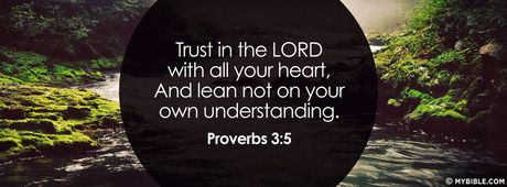 Proverbs 3:5 NKJV - Trust In The LORD With All Your Heart ...