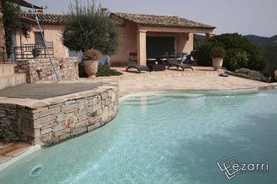 Mozaique piscine ezarri iris marfil mosaiques piscine for Cash piscine verre filtrant