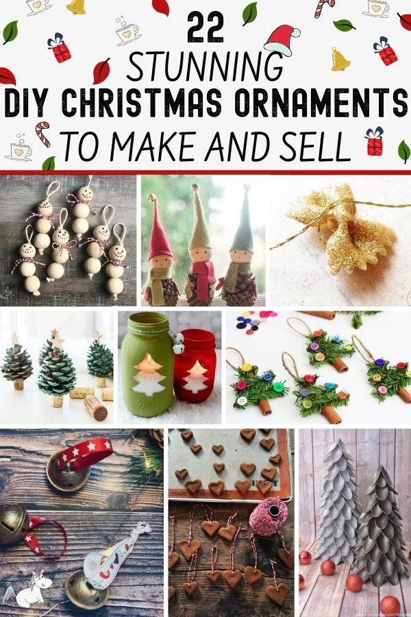 22 easy christmas ornaments to make and sell new for 2020 the mummy front in 2020 christmas ornaments to make easy christmas ornaments diy christmas ornaments 22 easy christmas ornaments to make and