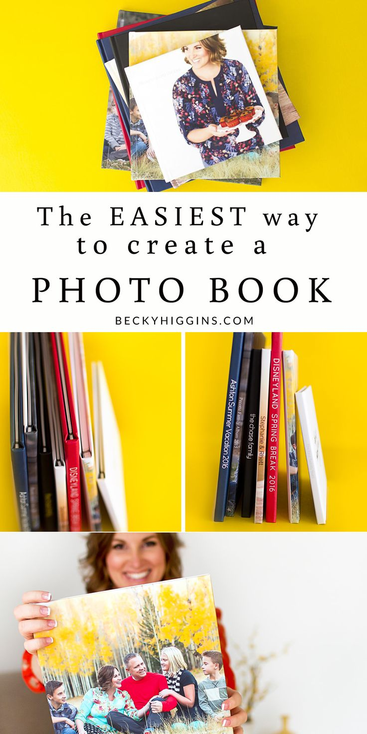 Now THIS is a super easy and fast way to create Photo books!