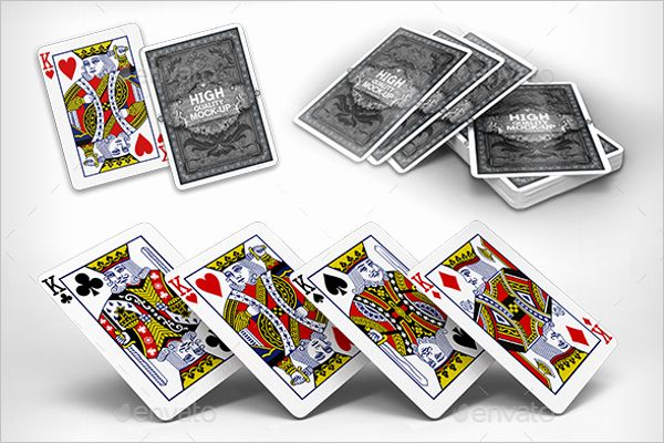 Playing Card Design Template Beautiful 31 Playing Cards Mockups Free Psd Designs Playing Cards Design Card Design Free Psd Design