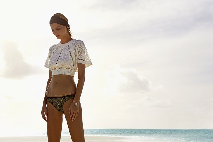 Love this Zimmermann Wrap Top. Would be great with a full skirt and heels too.