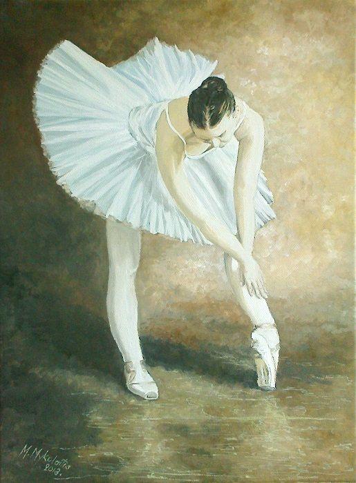 painting on canvas - Modestas Mykolaitis