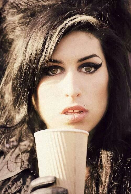 Amy Winehouse never met her