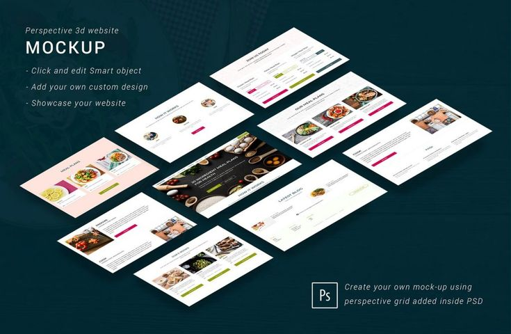 Free Isometric Website Mockups Website Mockup Website Mockup Free Free Mockup