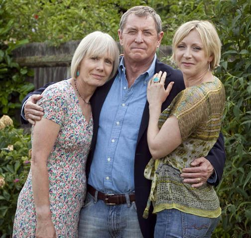 I like that they were happily married and the show was about the case at the moment with helpful moments from Joyce- and they adore their daughter and raised her well- no relationship/bad kid drama....It was John Nettles idea to be a happily married cop.