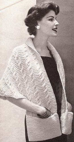 88 Best Vintage Knitting Images On Pinterest Vintage Knitting
