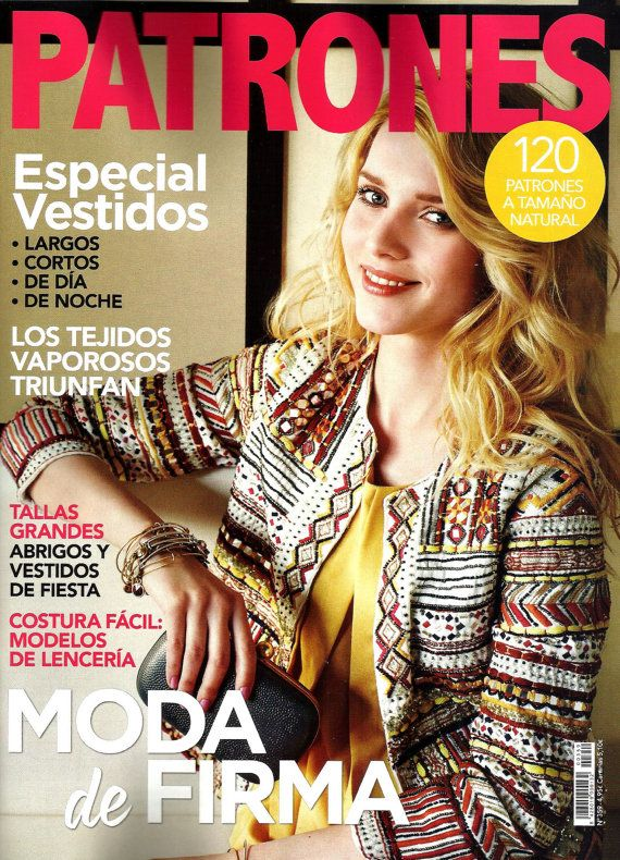 PATRONES revista 359 Moda de Firma.-