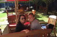 """FOTO Nadia Comăneci, alături de Simona Halep după eliminarea de la US Open: """"Cu regina tenisului"""""""