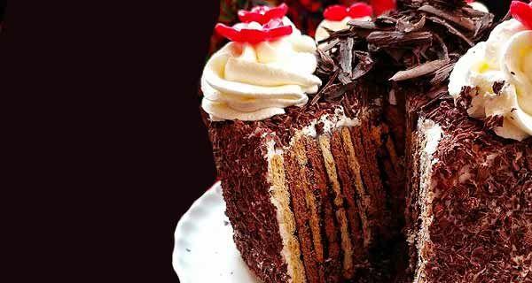 طرز تهیه کیک یخچالی Food Desserts Cake