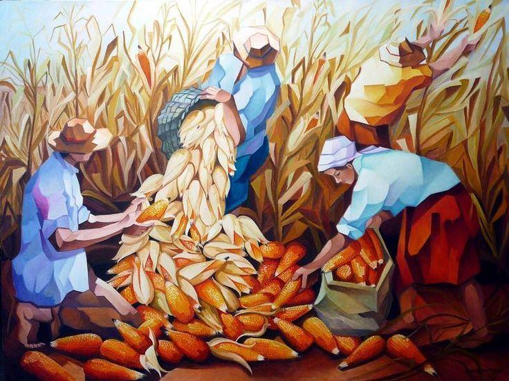 Colheita de milho, de Damião Martins 1