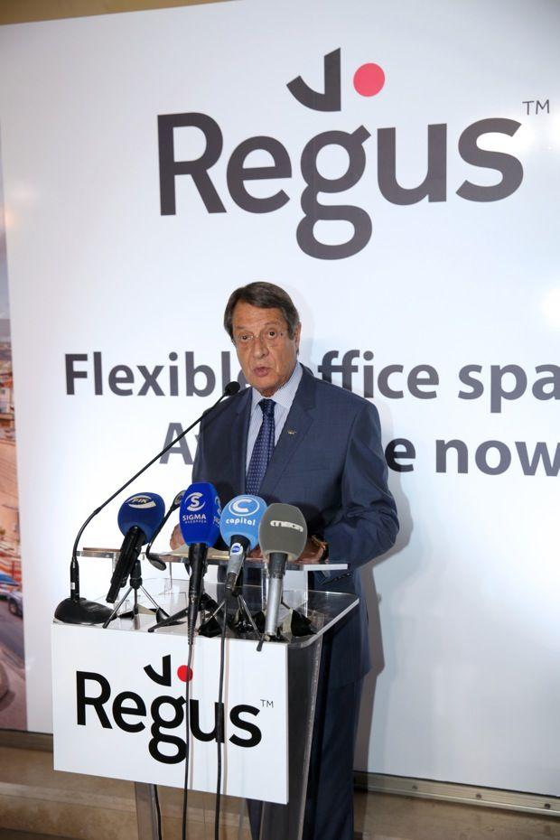 Το νέο επιχειρηματικό της κέντρο Victory House που βρίσκεται στη Λεωφόρο Αρχιεπισκόπου Μακαρίου 205, εγκαινίασε η Regus, την Παρασκευή 8 Ιουλίου. Τα εγκαίνια τέλεσε ο Πρόεδρος της Κυπριακής Δημοκρατίας κ. Νίκος Αναστασιάδης, ενώ την εκδήλωση τίμησαν με την παρουσία τους άλλοι σημαντικοί εκπρόσωποι του πολιτικού κόσμου και της επιχειρηματικής κοινότητας. Την εμπιστοσύνη της εταιρείας στις …