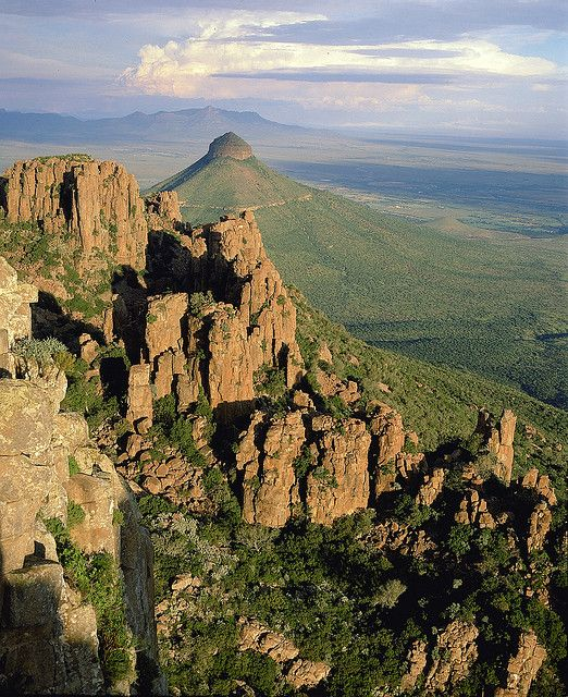 Valley of Desolation, Camdeboo National Park, Eastern Cape, South Africa by South African Tourism, via Flickr