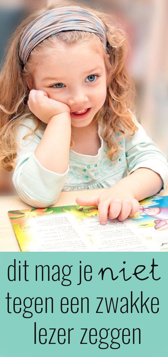 5 dingen die je NIET tegen een zwakke lezer moet zeggen
