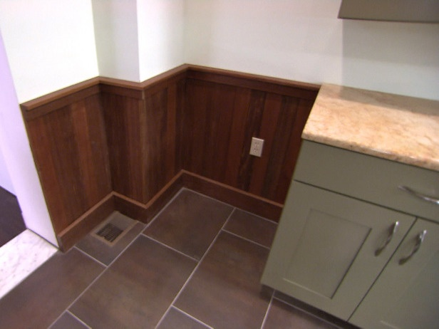 how to install ipe wainscoting