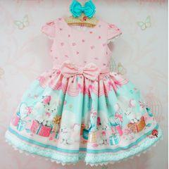 Vestido de Festa Infantil Lully Petit Cherie