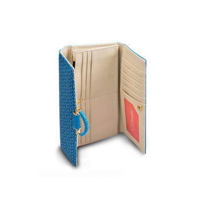 Douguyan Printed Tri-fold Wallet