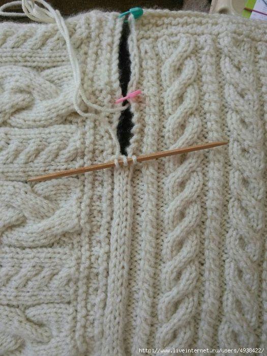 Шнур i-cord для соединения деталей.