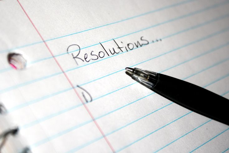While most resolutions revolve around getting in shape or eating healthier, not all of them have to be so practical.