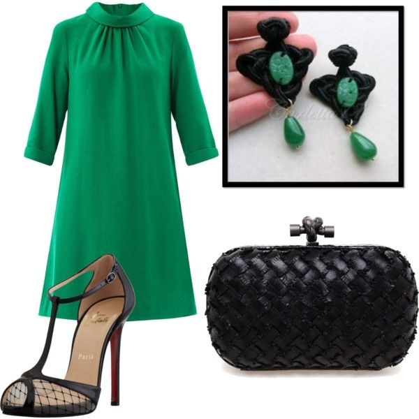 """""""emerald green"""" by carla-victorian-cameo-bijoux on Polyvore"""